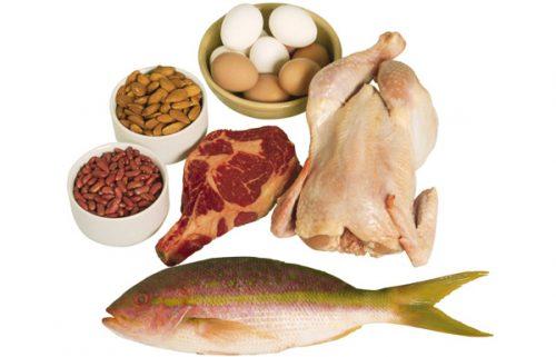 Chế độ ăn của người bị viêm trực tràng không thể thiếu chất đạm...