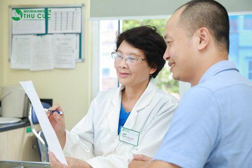 Người bệnh cần đi khám để có phương pháp điều trị các bệnh đường ruột nhanh chóng, hiệu quả