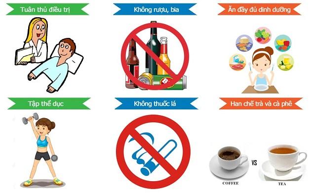 Giữ lối sinh hoạt lành mạnh, ăn uống khoa học sẽ hỗ trợ gan nhanh phục hồi