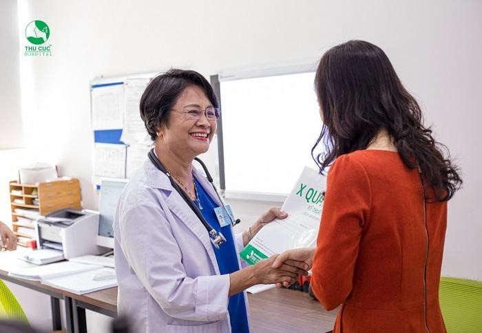 Tùy theo kích cỡ và thể tích của nhân xơ tử cung, bác sĩ của Bệnh viện Thu Cúc sẽ đưa ra phác đồ điều trị phù hợp với từng bệnh nhân