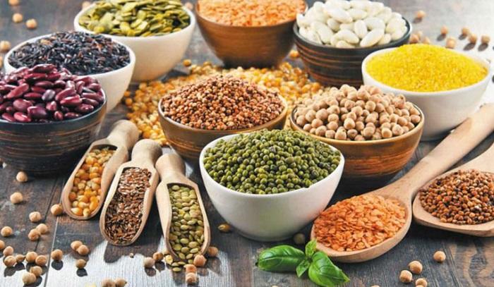 Người u xơ tử cung nên sử dụng các loại ngũ cốc nguyên hạt và các loại hạt đậu