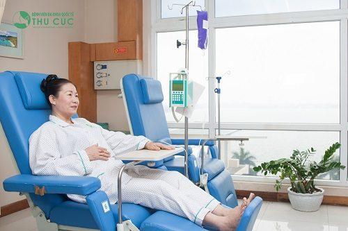 Hóa trị là một trong những phương pháp thường được áp dụng trong điều trị các bệnh lý ung thư
