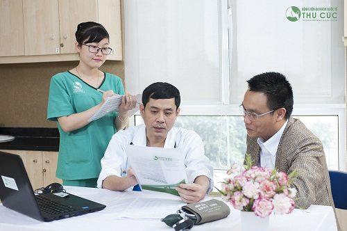 Người bệnh cần đi khám để làm các xét nghiệm cụ thể nhằm chẩn đoán chính xác tình trạng sức khỏe