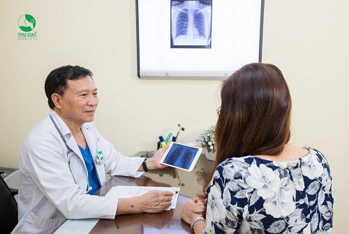 Tùy vào từng giai đoạn bệnh cụ thể, bác sĩ sẽ tư vấn phương pháp chữa trị phù hợp