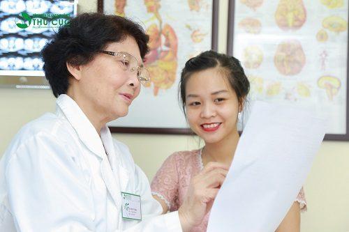 Người bệnh cần đi khám để được xác định rõ nguyên nhân gây bệnh, từ đó có biện pháp điều trị phù hợp