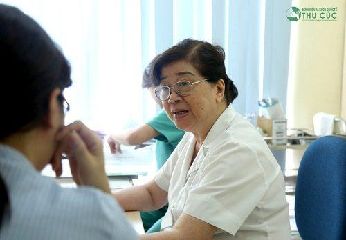 Đi khám bác sĩ càng sớm càng tốt để được chẩn đoán chính xác và có phác đồ điều trị hiệu quả