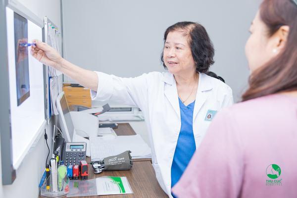 Nhiều bệnh nhân tin tưởng lựa chọn điều trị bệnh xương khớp tại Hệ thống Y tế Thu Cúc