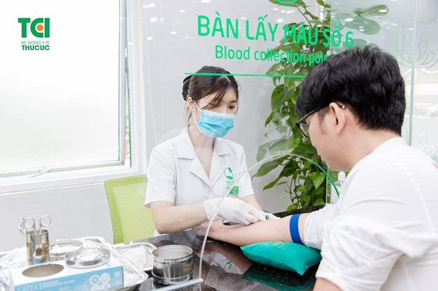 xét nghiệm máu bao nhiêu tiền và ở đâu