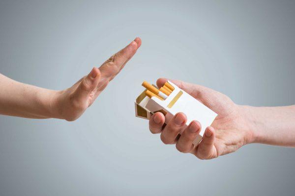 Nói không với thuốc lá là bước đầu tiên trong phòng bệnh xơ phổi