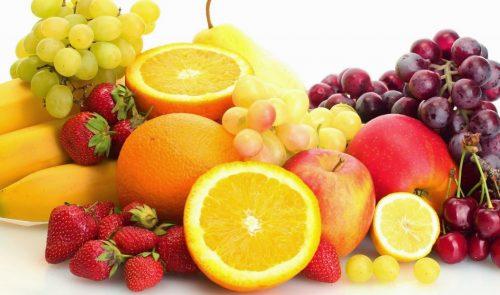 Các loại trái cây tốt cho tiêu hóa gồm: chuối, nho, táo, đu đủ, bưởi, cam, ...