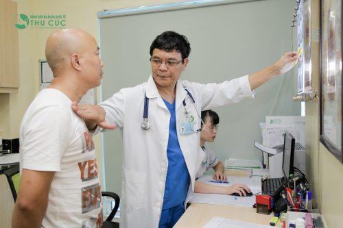 Điều trị triệt hiệu quả bệnh xơ gan theo đúng chỉ định của bác sĩ chuyên khoa gan mật để tránh biến chứng xuất huyết tiêu hóa