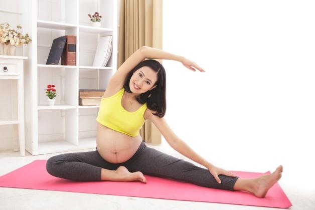 Hạn chế tập luyện với cường độ quá mạnh khi thai 9 tuần tuổi