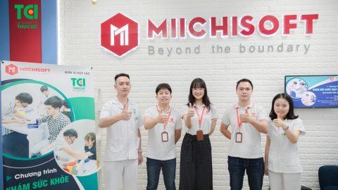 Công ty CP Miichisoft nâng cao sức khỏe lao động trẻ Việt tại TCI