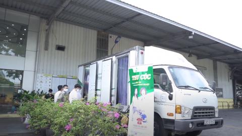 Khám sức khỏe doanh nghiệp – Đoàn lớn ở xa, đã có Thu Cúc lo