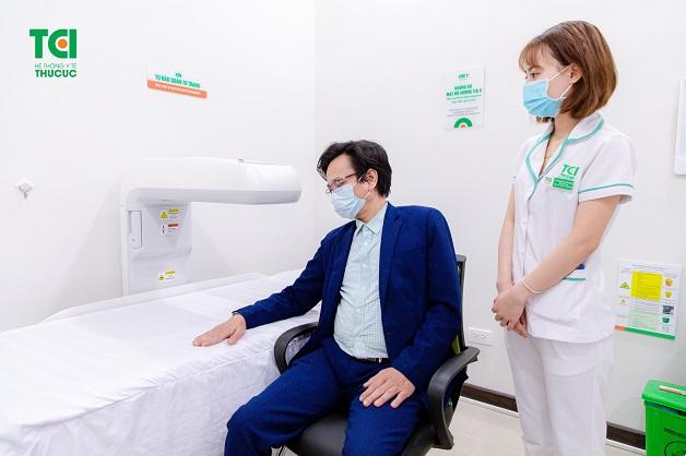 Gói khám sức khỏe cho người tuổi trung niên ở TCI có gì?