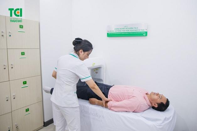 đo loãng xương bằng phương pháp DEXA tại Thu Cúc