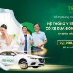 Hệ thống y tế Thu Cúc – TCI hỗ trợ xe đưa đón khách hàng trong mùa dịch