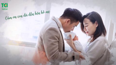 Nhật ký đi sinh của gia đình vợ chồng diễn viên Mạnh Quân