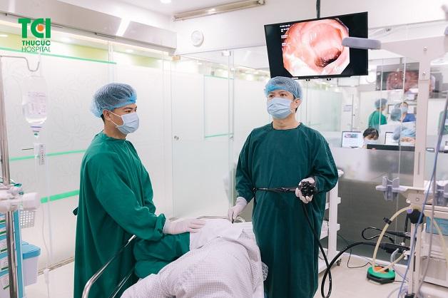 Nội soi đại tràng tại Hệ thống Y tế Thu Cúc