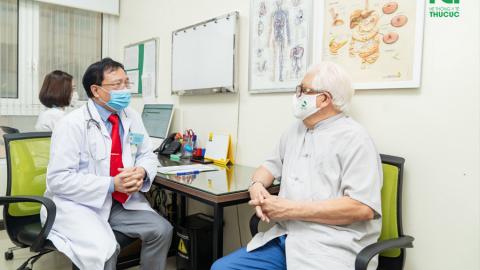 Sức khỏe bất ổn, NSƯT Đức Trung lựa chọn BV ĐKQT Thu Cúc để thăm khám