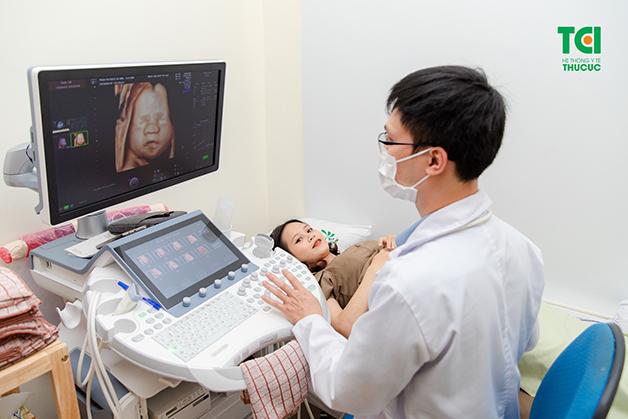 Siêu âm thai là cách tốt nhất để kiểm tra tình trạng của thai nhi