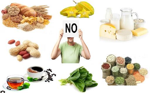 Một số thực phẩm giảm hấp thụ sắt cần lưu ý