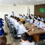 Thu Cúc TCI Cơ sở 32 Đại Từ cử đoàn y bác sĩ hỗ trợ tiêm vắc xin Covid-19 cho người dân